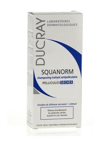 Ducray DUCRAY Squanorm Sec Şampuan 200 ml - Kuru Kepek Renksiz